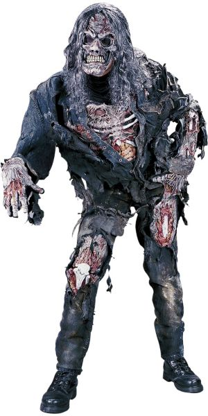 Adult 3D Zombie Costume