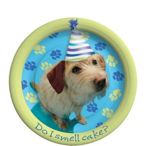Party Pups Dessert Plates 8ct