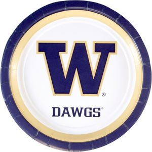 Washington Huskies Lunch Plates 10ct