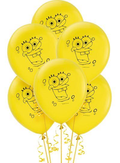 SpongeBob Balloons 6ct