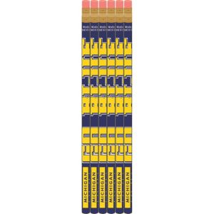 Michigan Wolverines Pencils 6ct