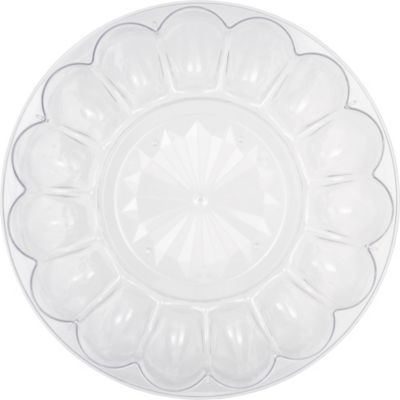 CLEAR Plastic Egg Tray with Lid