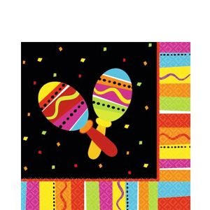 Bright Fiesta Lunch Napkins 16ct