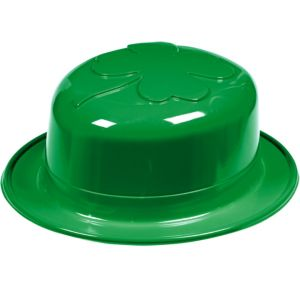 Plastic Shamrock Derby Hat