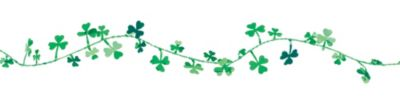 Shamrocks Wire Garland