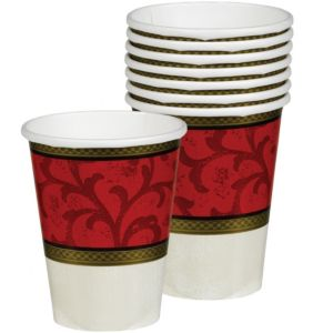 Classic Christmas Tree Cups 8ct