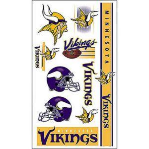 Minnesota Vikings Tattoos 7ct