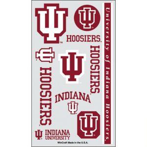 Indiana Hoosiers Tattoos 7ct