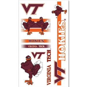 Virginia Tech Hokies Tattoos 7ct