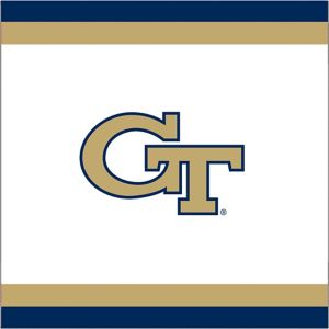 Georgia Tech Yellow Jackets Lunch Napkins 20ct