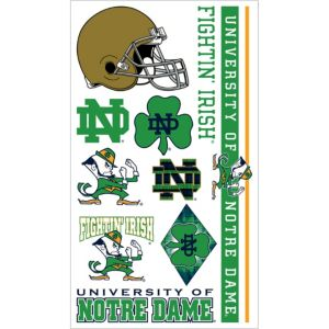 Notre Dame Fighting Irish Tattoos 7ct