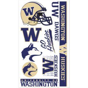 Washington Huskies Tattoos 7ct