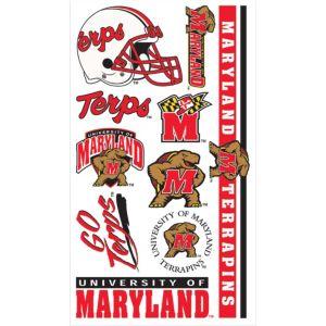 Maryland Terrapins Tattoos 7ct