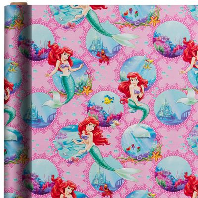 Little Mermaid Gift Wrap