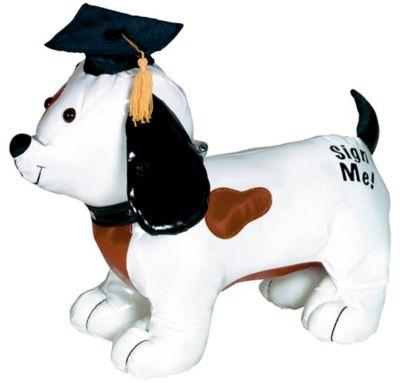 Graduation Autograph Dog with Pen