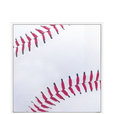 Baseball Fan Lunch Napkins 16ct