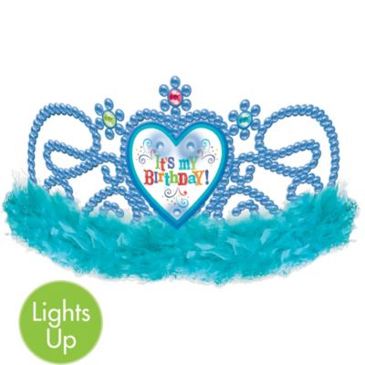 Birthday Princess Light Up Tiara