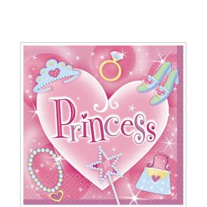 Princess Lunch Napkins 16ct