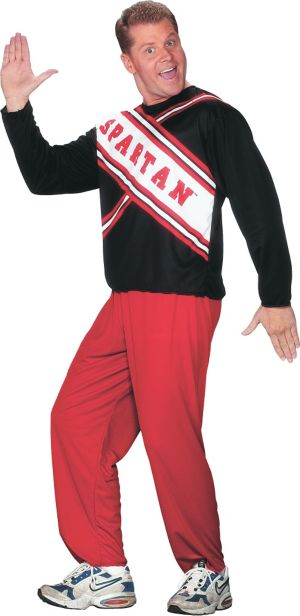 Adult Spartan Spirit Cheerleader Costume - SNL