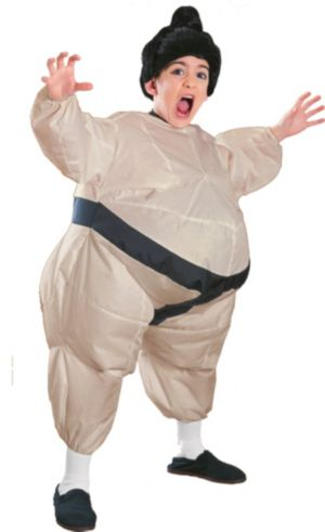 Boys Inflatable Sumo Costume