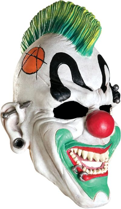 Child Punked Clown Mask