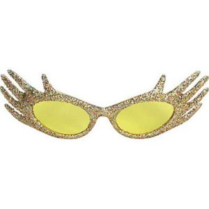 Gold Hand Sunglasses