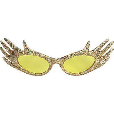 Gold Hand Sunglasses