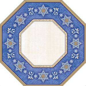 Judaic Traditions Passover Dessert Plates 8ct
