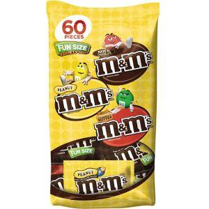 Milk Chocolate Fun Size M&M's Variety Mix 60ct