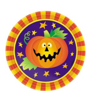 Friendly Frights Dessert Plates 8ct