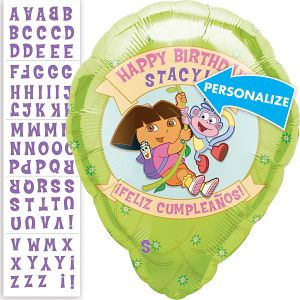 Dora the Explorer Balloon - Personalized