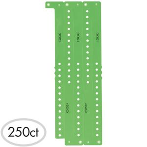 Lime Green Plastic Wristbands 250ct
