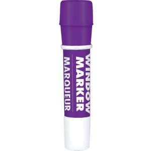 Purple Window Marker 4 1/2in