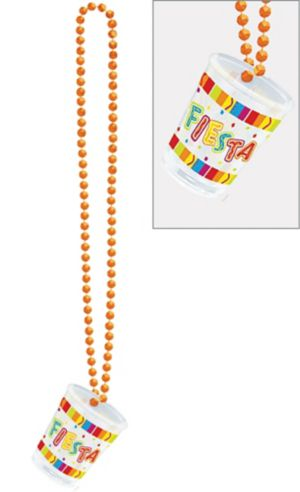 Fiesta Fun Shot Glass Necklace
