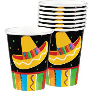 Bright Fiesta Cups 8ct