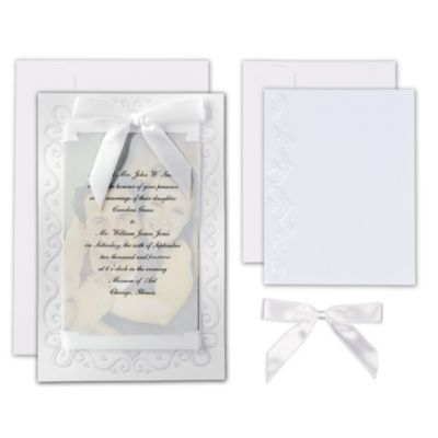 The Two of Us Printable Wedding Invitations Kit 25ct