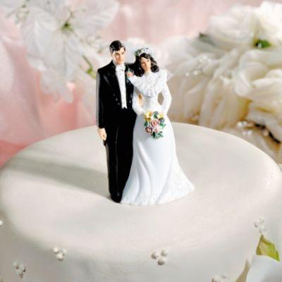 Lasting Love Wedding Cake Topper 4 1/2in