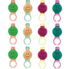 Smiley Bubble Rings 12ct