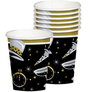 Black Tie New Year's Cups 36ct