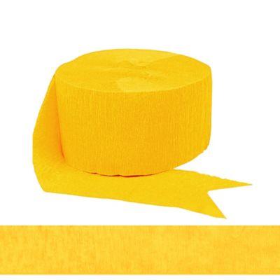 Sunshine Yellow Streamer