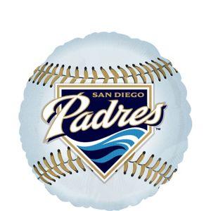San Diego Padres Balloon - Baseball