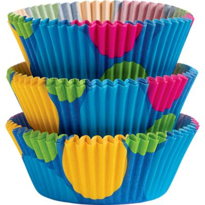 Dazzle Dots Baking Cups 75ct