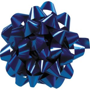 Royal Blue Lacquer Gift Bow