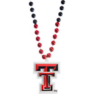 Texas Tech Red Raiders Pendant Bead Necklace