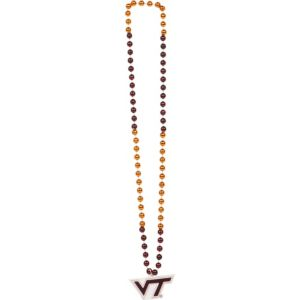 Virginia Tech Hokies Pendant Bead Necklace