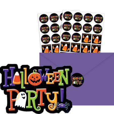 Happy Halloween Invitations 20ct
