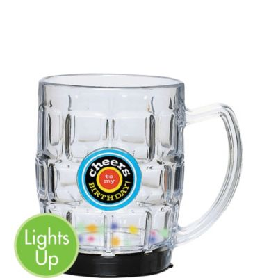 Birthday Cheers Light Up Beer Tankard
