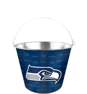Seattle Seahawks Galvanized Bucket