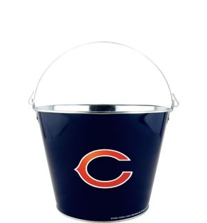 Chicago Bears Galvanized Bucket