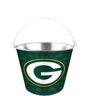 Green Bay Packers Galvanized Bucket